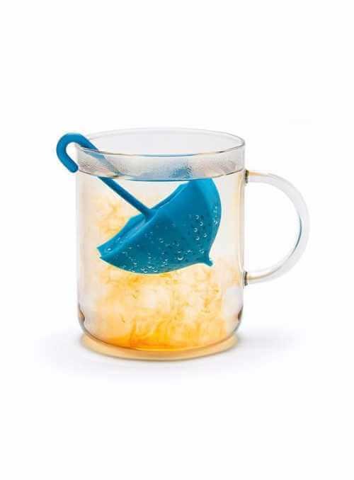 """""""Dáždnik"""" - sitko na sypaný čaj"""