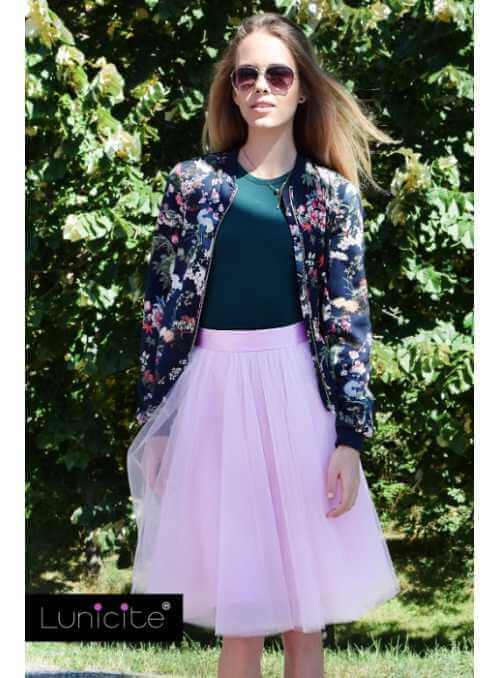 Lunicite LIGHT PINK TULIP – exclusive tulle skirt light pink