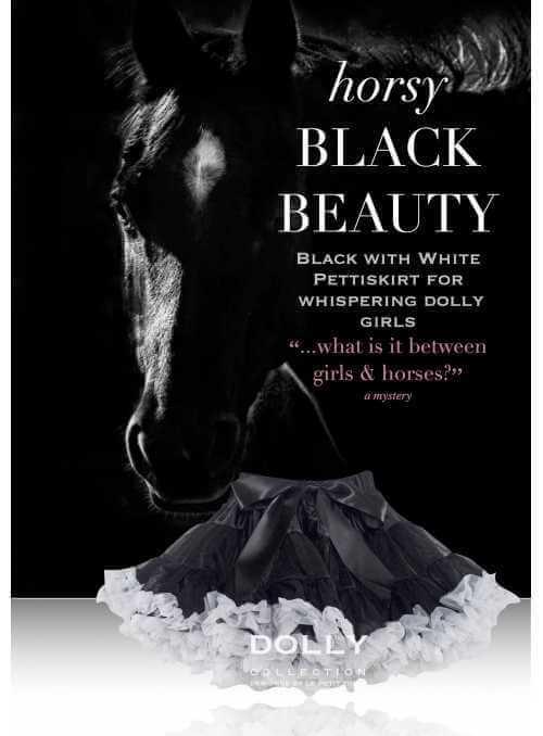 BLACK BEAUTY Petti skirt
