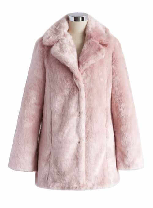 Marshmallow kožuštek, ružový