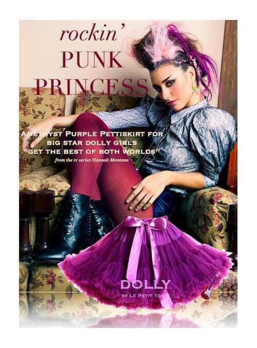 PUNK PRINCESS Petti skirt