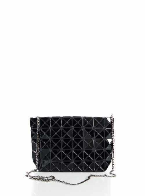 28x17x8 Čierna lesklá – Mini kabelka
