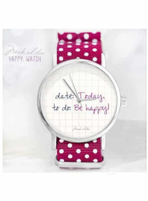 """Hodinky """"BE HAPPY"""" – dámske hodinky"""
