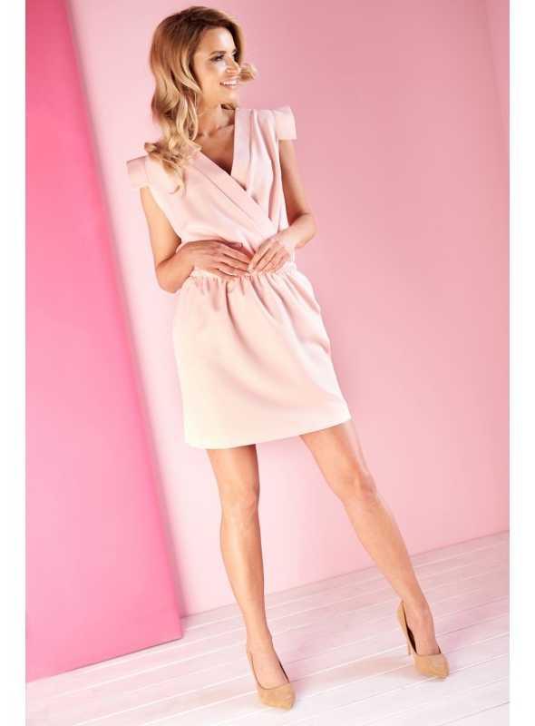 """Wrap dress """"Powder pink"""""""