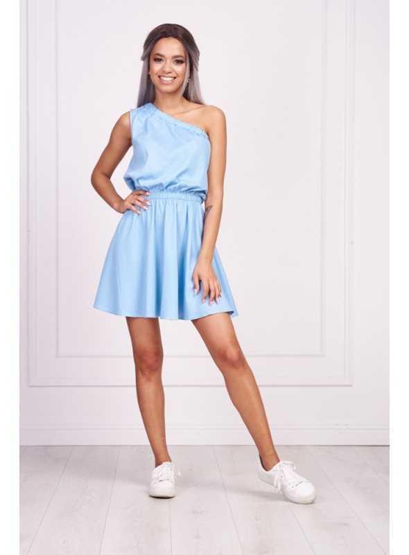 """Pohodlné šaty """"BLUE DENIM""""- dámske krátke šaty"""