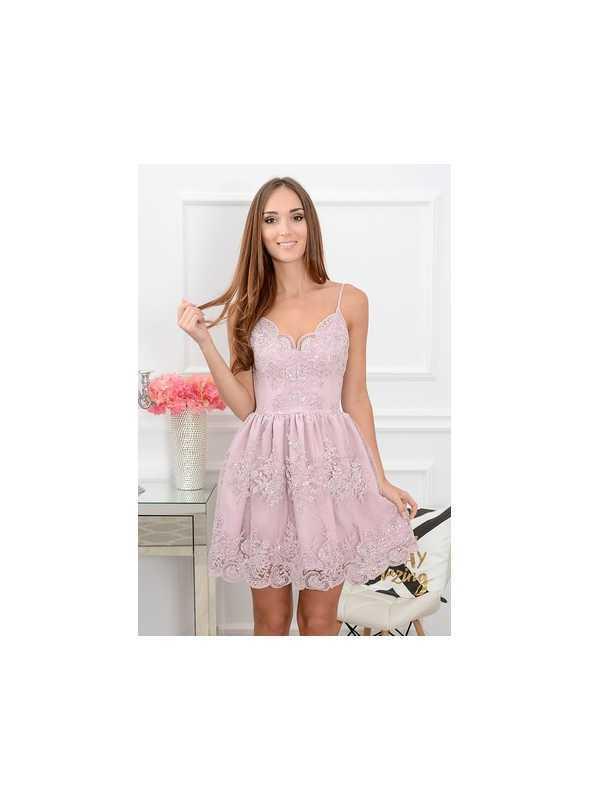 """9815df557f6e LAVENDER FLOWER"""" - dámske krátke šaty - Dadoo"""