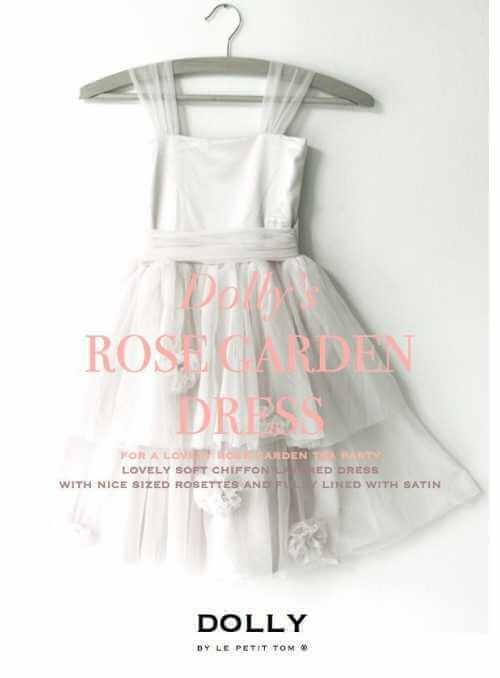 ROSE GARDEN DRESS offwhite