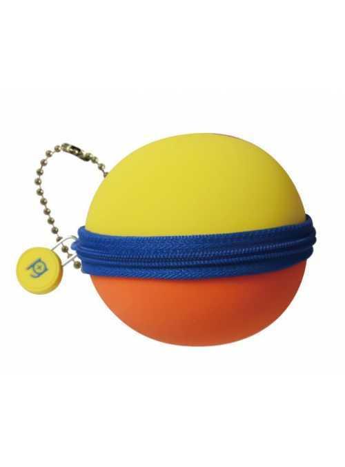 Silikónová guľôčka žltá