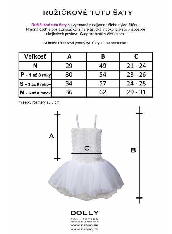 size Rosette tutu dress