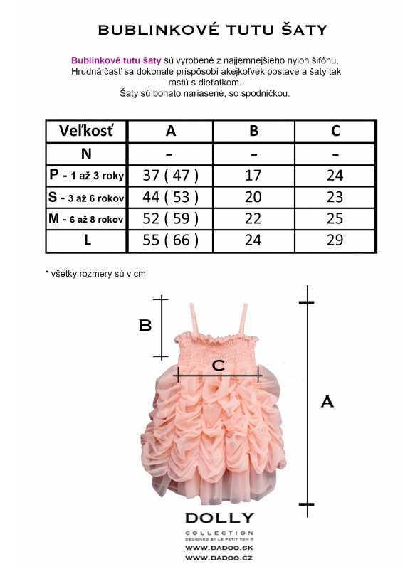 size BUBBLE DRESS