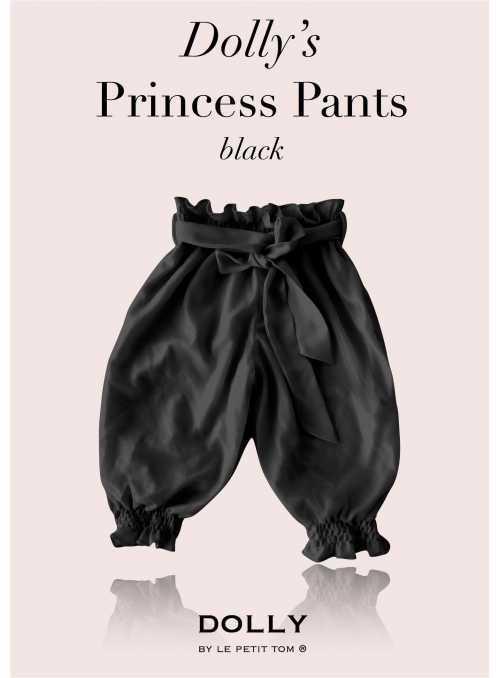 DOLLY princezničkovské nohavice – čierne