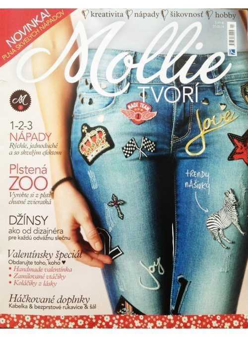 (2/2014-SK) Časopis Mollie, Bratislava