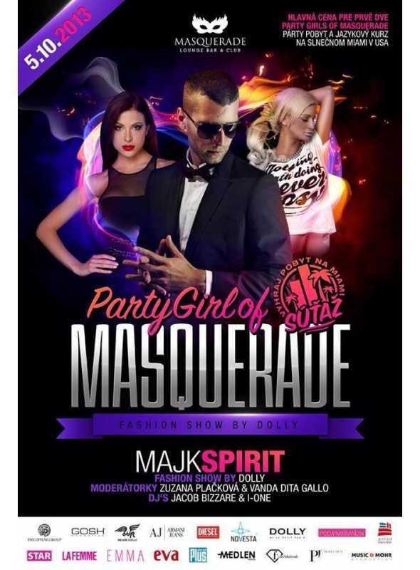(10/2013-SK) Partygirl of Masquarade, Masquarade, Bratislava