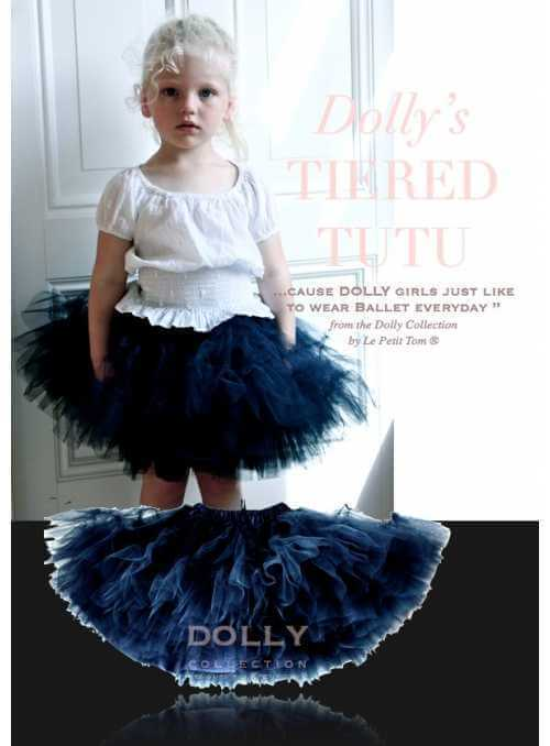 TIERED TUTU dark navy