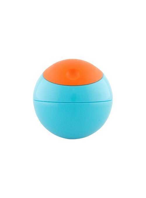 SNACK BALL – loptička na uskladnenie potravín, farba modro-pomarančová