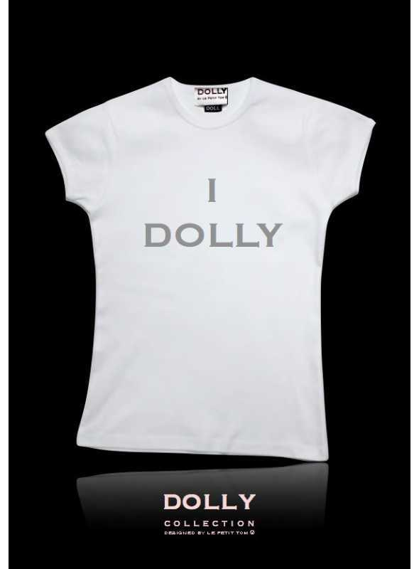 "DOLLY signature T-shirt ""I DOLLY"""