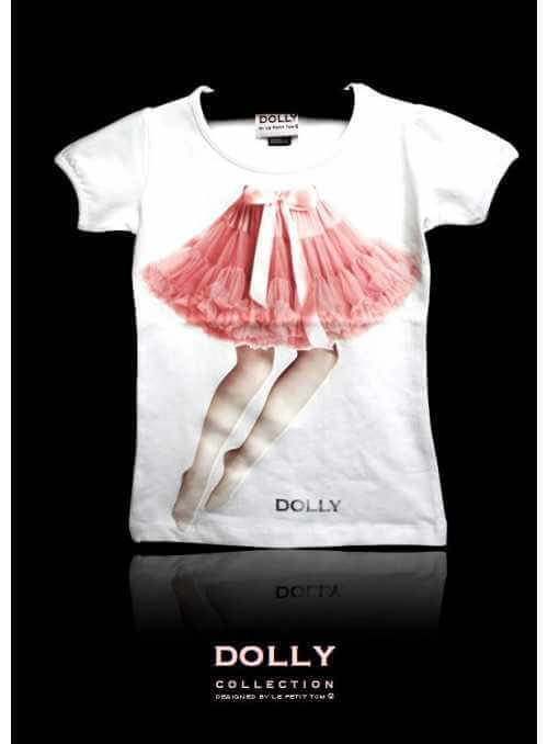 "DOLLY signature T-shirt ""FAIRY LEGS"""