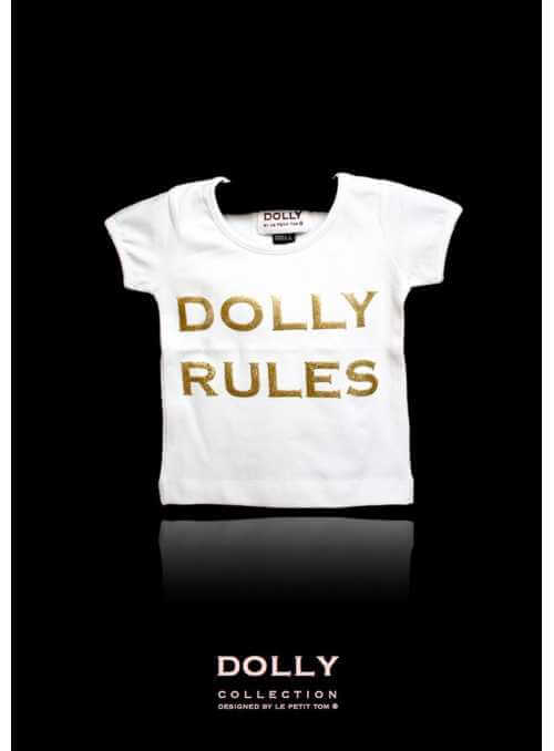 "DOLLY signature T-shirt ""DOLLY RULES"""