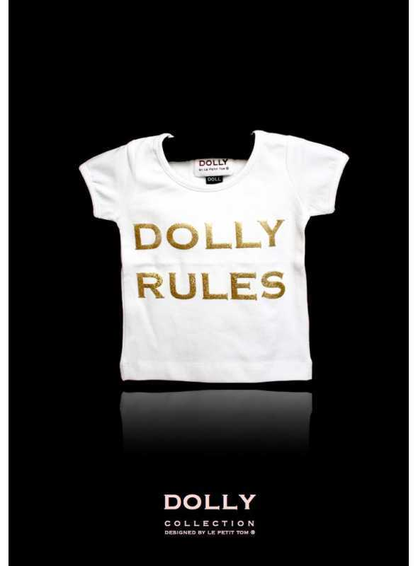 """DOLLY signature T-shirt """"DOLLY RULES"""""""