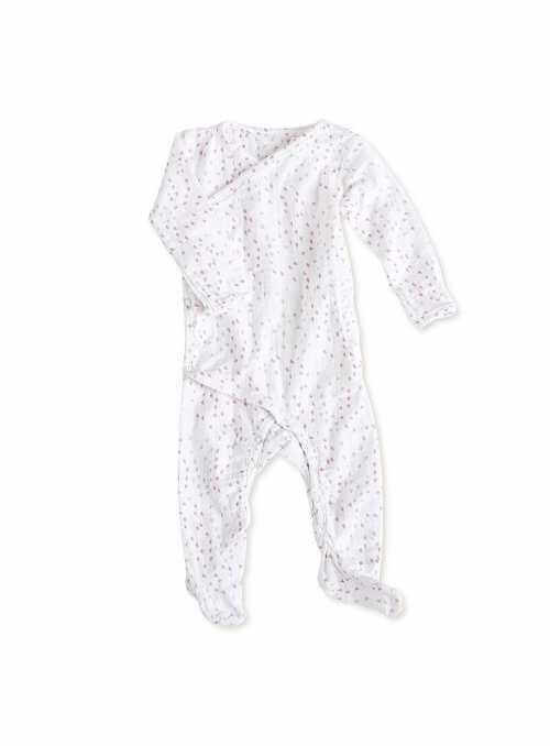 Long-sleeved babygrow - Hearts Lovely Aden&Anais