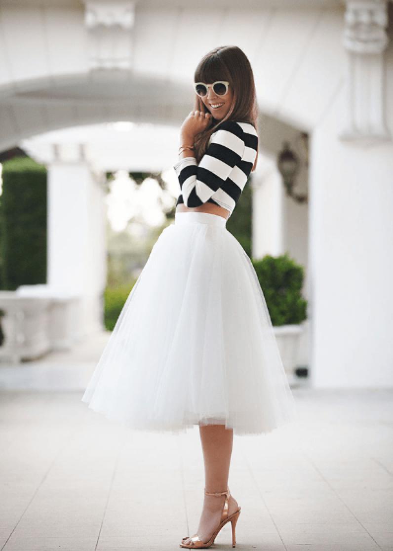 Tylové sukničky – skvelá voľba na slávnostnejšie príležitosti 7310cb34df