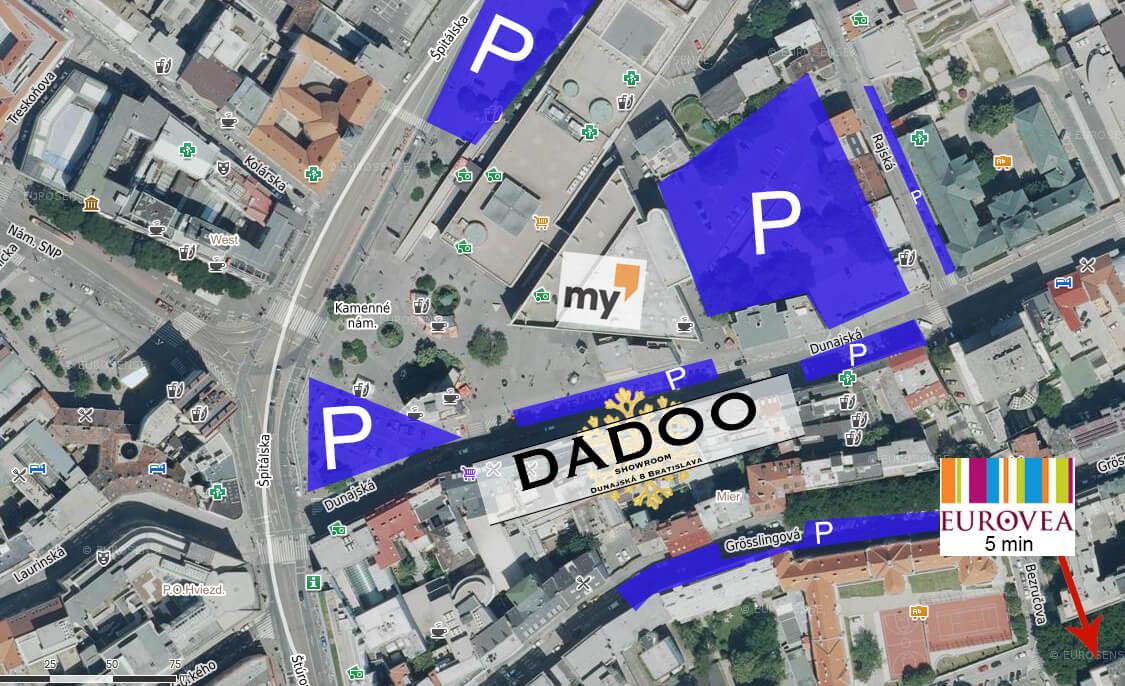 Parkovanie dadoo.sk