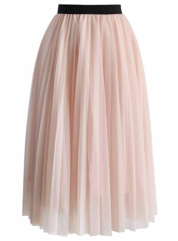 "Falling pink tulle skirt ""marshmellow"""
