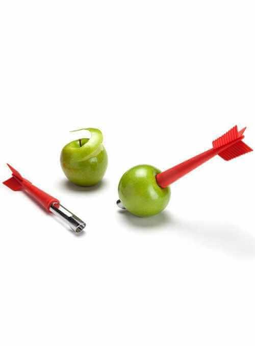 """""""Šípka do jablka"""" - odstraňovač jadrovníka s nožíkom"""