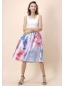 "Midi skirt ""Blue Lagoon """