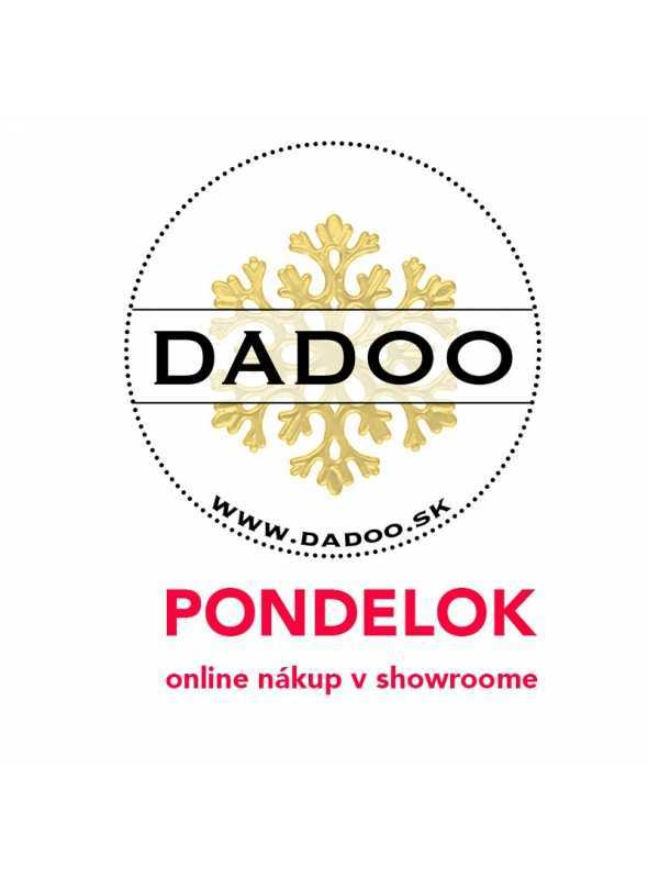 PONDELOK – online nákup v DADOO showroome