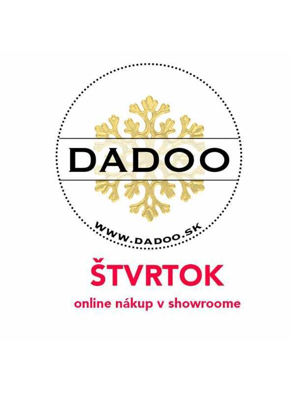 ŠTVRTOK – online nákup v DADOO showroome