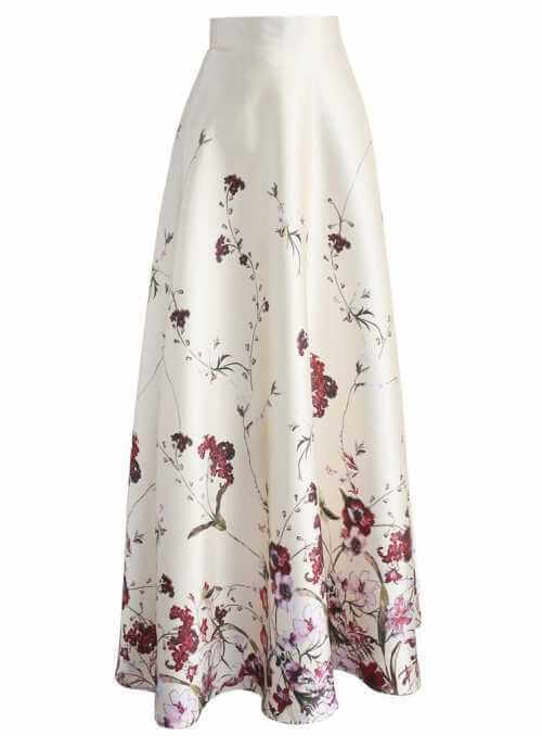 "MAXI SKIRT ""Sleeping Beauty"""