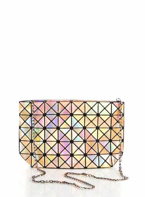 28x17x8 Zlatá lesklá STAR – Mini kabelka