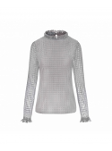 "Top ""Larissa"", gray"