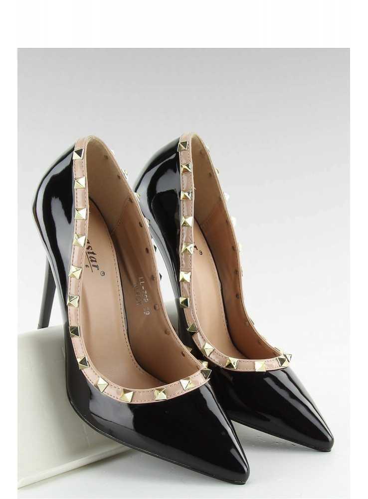 0f0552507 ... BLACK VALENTINO – Vybíjané krémové lakované lodičky ...