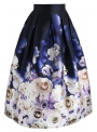 "Midi skirt ""Lullaby of roses"""