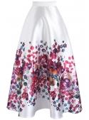 """Maxi sukně """"Kvetoucí zahrada"""""""