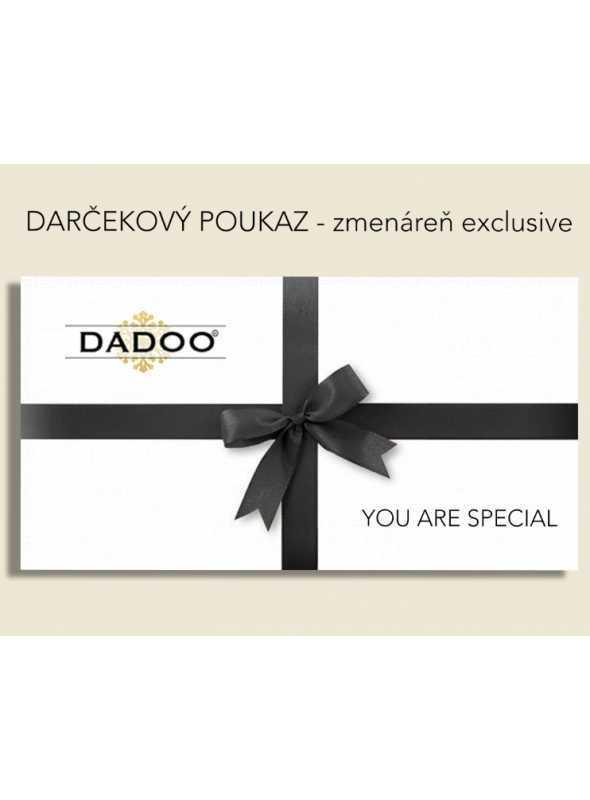 darčekový poukaz DADOO day - zmenáreň exclusive
