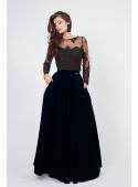 """Maxi Skirt """"Black Night"""""""