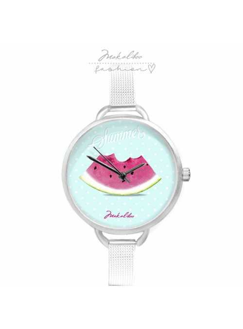"Watch ""WATERMELON"" - ladies watch with a piece of watermelon"