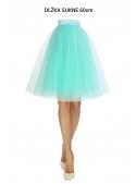 Lunicite MINT TULIP - exclusive tulle skirt menthol 60cm