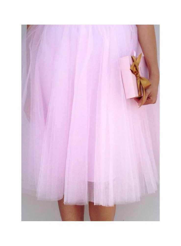 ... Lunicite RUŽOVÝ TULIPÁN – exkluzívna tylová sukňa bledo ružová 36272a1c3b