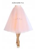 Lunicite PEACH TULIP - exclusive tulle skirt peach, 77 cm