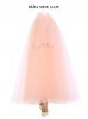 Lunicite PEACH TULIP - exclusive tulle skirt peach, 107 cm