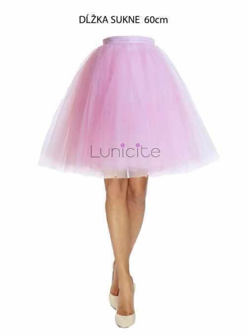 Lunicite MATERINA DÚŠKA – exkluzívna tylová sukňa z bylinkovej kolekcie