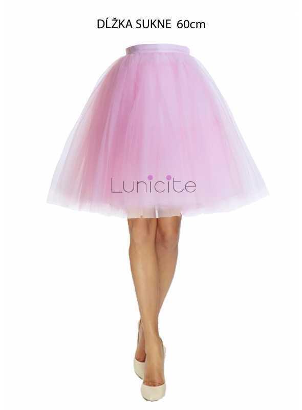 Lunicite PÚPAVA – exkluzívna tylová sukňa z bylinkovej kolekcie