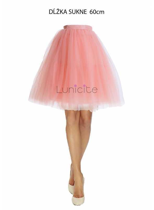 Lunicite POMARANČ – exkluzívna tylová sukňa z bylinkovej kolekcie