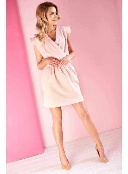 "Wrap dress ""Powder pink"""