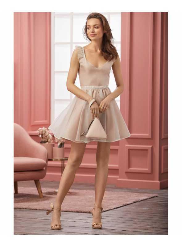 """Šaty """"CHLOE"""" - dámske ružové šaty"""