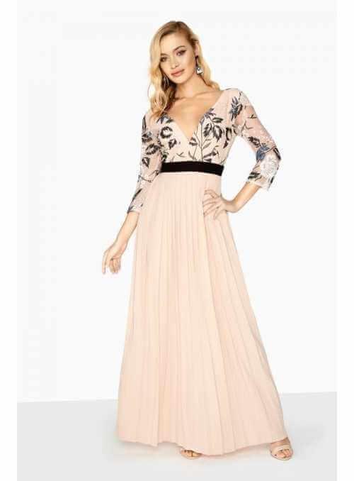 """Maxi plisované šaty """"Miss D"""""""